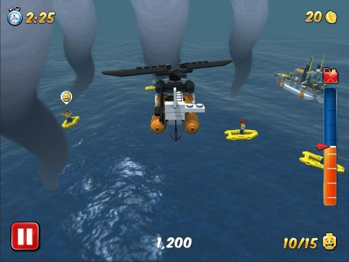 Screenshots of the LEGO City: My City for Android tablet, phone.
