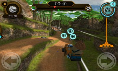 Screenshots of the LEGO Legends of Chima: Speedorz for Android tablet, phone.