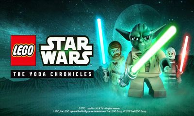 Screenshots of the LEGO Star Wars for Android tablet, phone.