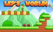 In addition to the game  for Android phones and tablets, you can also download Lep's World for free.