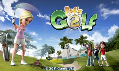 Screenshots of the Lets Golf! 2 HD for Android tablet, phone.