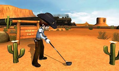 Screenshots of the Lets Golf! 3 for Android tablet, phone.
