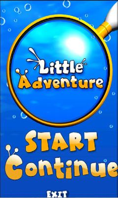 Screenshots of the Little Adventure for Android tablet, phone.