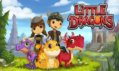 Screenshots of the Little Dragons for Android tablet, phone.