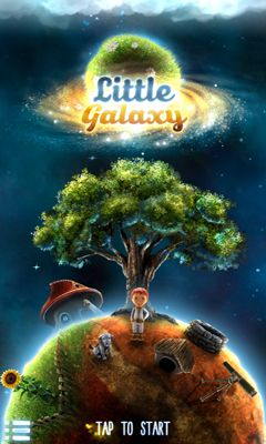 Screenshots of the Little Galaxy for Android tablet, phone.