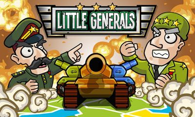 Screenshots of the Little Generals for Android tablet, phone.