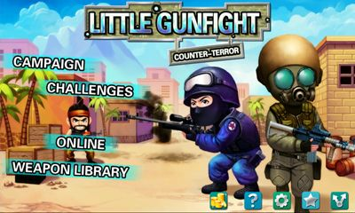 Screenshots of the Little Gunfight Counter Terror for Android tablet, phone.