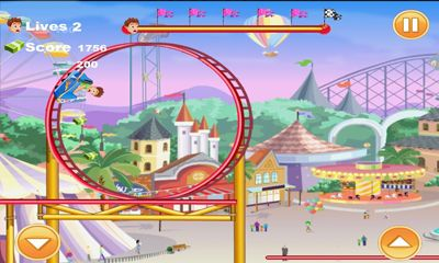 Screenshots of the Mad Roller Coaster for Android tablet, phone.
