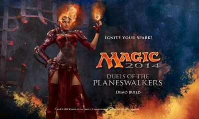 Screenshots of the Magic 2014 for Android tablet, phone.