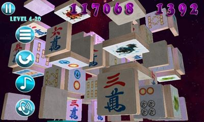 Screenshots of the Mahjong Deluxe 2 for Android tablet, phone.