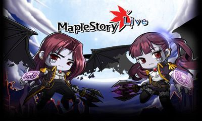Screenshots of the MapleStory Live Deluxe for Android tablet, phone.