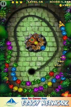 Screenshots of the Marble Blast 2 for Android tablet, phone.