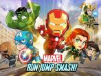 In addition to the game CSR Racing for Android phones and tablets, you can also download Marvel: Run jump smash! for free.
