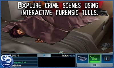 Screenshots of the Masters of Mystery for Android tablet, phone.