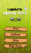 In addition to the game City Cars Racer for Android phones and tablets, you can also download 1 Minute Math Test for free.