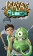 In addition to the game Around the World 80 Days for Android phones and tablets, you can also download Mayas & Aliens for free.