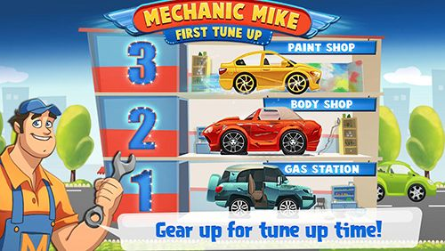 Screenshots of the Mechanic Mike: First tune up for Android tablet, phone.