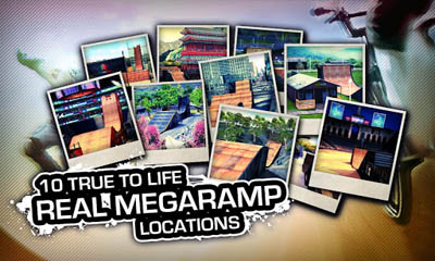 Screenshots of the MegaRamp The Game for Android tablet, phone.