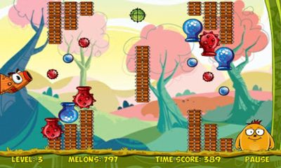 Screenshots of the Melon Bounce for Android tablet, phone.