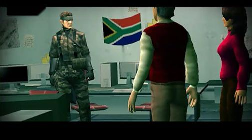 Screenshots of the Metal gear: Outer heaven. Part 3 for Android tablet, phone.
