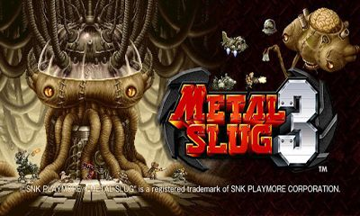 Screenshots of the Metal Slug 3 for Android tablet, phone.