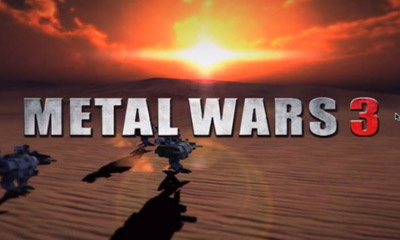 Screenshots of the Metal wars 3 for Android tablet, phone.