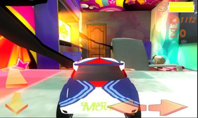 Screenshots of the Microworld Racing 3d for Android tablet, phone.