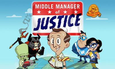Screenshots of the Middle Manager of Justice for Android tablet, phone.