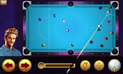 Screenshots of the Midnight Pool 3 for Android tablet, phone.