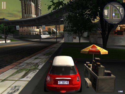 Midtown crazy race - Android game screenshots. Gameplay Midtown crazy
