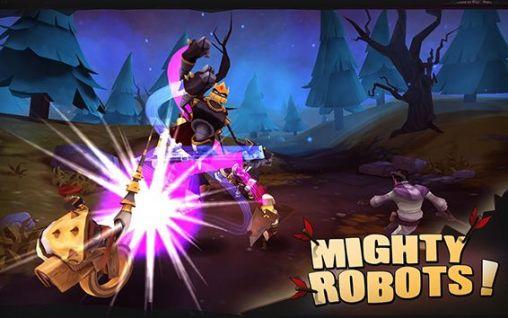 لعبة القتال الرائعه Might mayhem