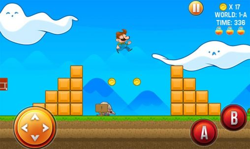 Screenshots of the Mike's world for Android tablet, phone.