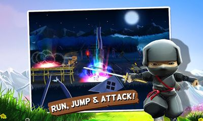 Screenshots of the Mini Ninjas for Android tablet, phone.