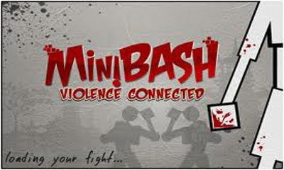 Screenshots of the MiniBash Violence connected for Android tablet, phone.