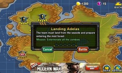 Screenshots of the Mission Of Crisis for Android tablet, phone.