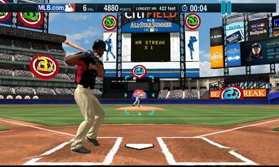 home run baseball game