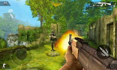Screenshots of the Modern Combat 2 Black Pegasus HD for Android tablet, phone.