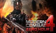 Modern combat 4 Zero Hour free download. Modern combat 4 Zero Hour full Android apk version for tablets and phones.