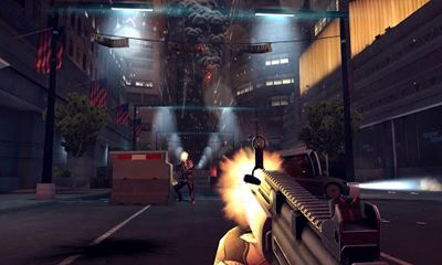 Screenshots of the Modern combat 4 Zero Hour for Android tablet, phone.