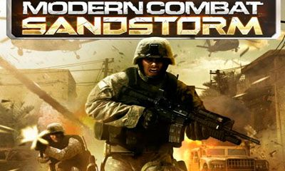 Screenshots of the Modern Combat: Sandstorm for Android tablet, phone.