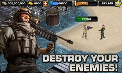 Screenshots of the Modern War Online for Android tablet, phone.