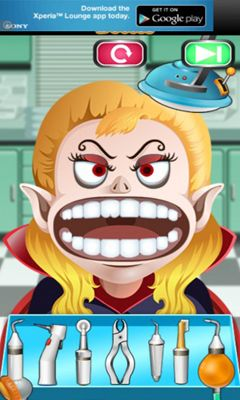 Screenshots of the Monster Doctor - kids games for Android tablet, phone.