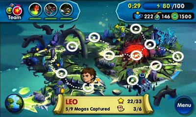 Screenshots of the Monster Galaxy for Android tablet, phone.
