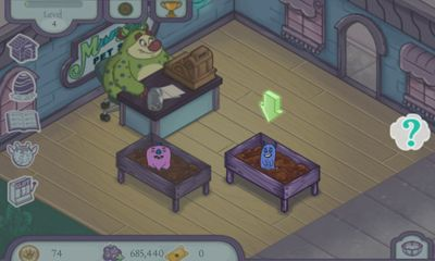 Monster Pet Shop - Android game screenshots. Gameplay Monster Pet Shop