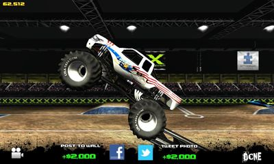 Screenshots of the Monster truck destruction for Android tablet, phone.