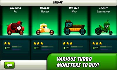 Monsters Climb Race: hill race - Android game screenshots. Gameplay