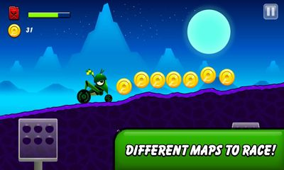 race Android apk game. Monsters Climb Race: hill race free download