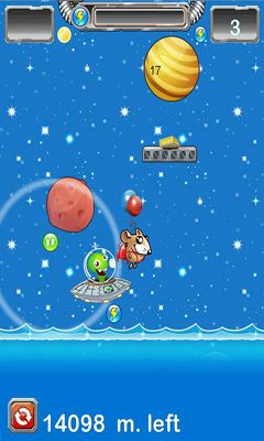 Screenshots of the Moon mouse for Android tablet, phone.