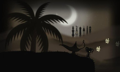 Screenshots of the Moonlight Runner for Android tablet, phone.