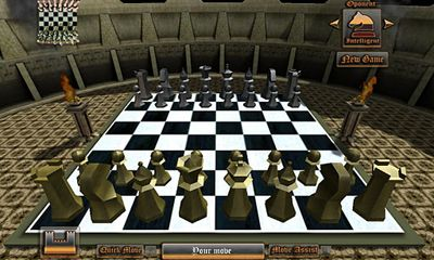 Screenshots of the Morph Chess 3D for Android tablet, phone.